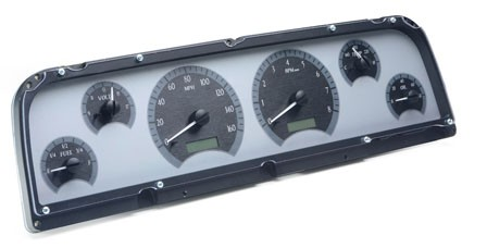 1964-1966 Chevy C10 VHX Gauge Instruments - Dakota Digital VHX-64C-PU