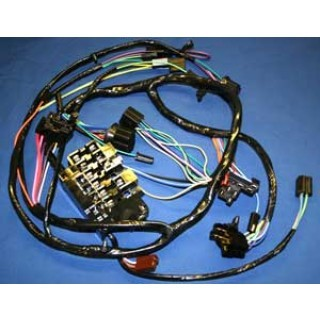 1964-1965 Chevy C10 Dash Harness with factory gauges