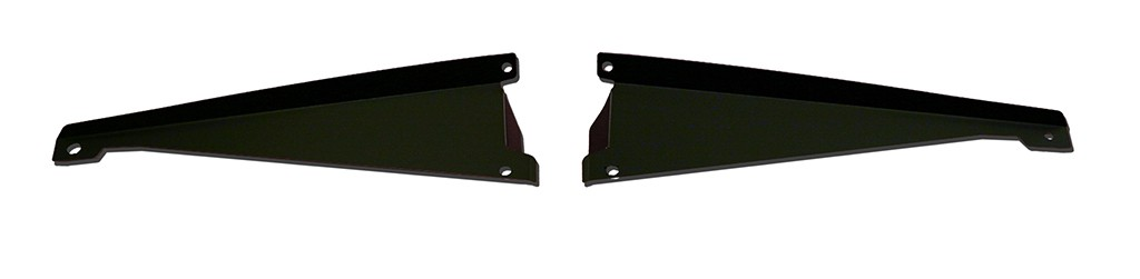 65 Chevelle Radiator Show Panel - black