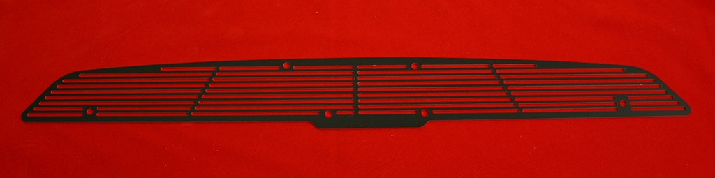 67-69 Camaro Cowl Induction Hood Grille - black