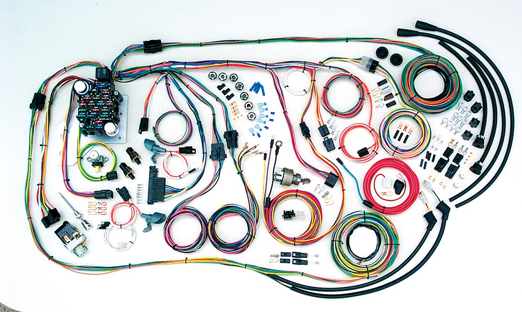1955-1959 Chevy Truck Wiring Harness