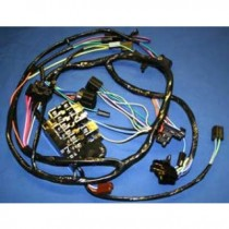 1964 1965 chevy c10 dash harness with factory gauges 18965 wiring harness 1960 1966 1964 c10 wiring harness at crackthecode.co
